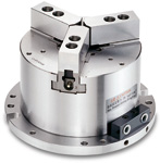 Chandox pneumatisch hydraulisch Dreibacken-Spannstock MO
